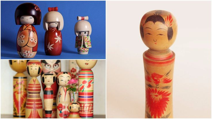 Kokeshi are Japanese dolls from the Tohoku region in Northern Japan. These handmade wooden dolls have a colorful history and controversial reputation. They