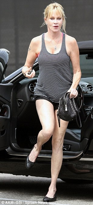 Melanie Griffith celebrated her 55th birthday last month ...