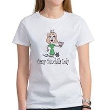 Crazy Chin Lady Women's T-Shirt