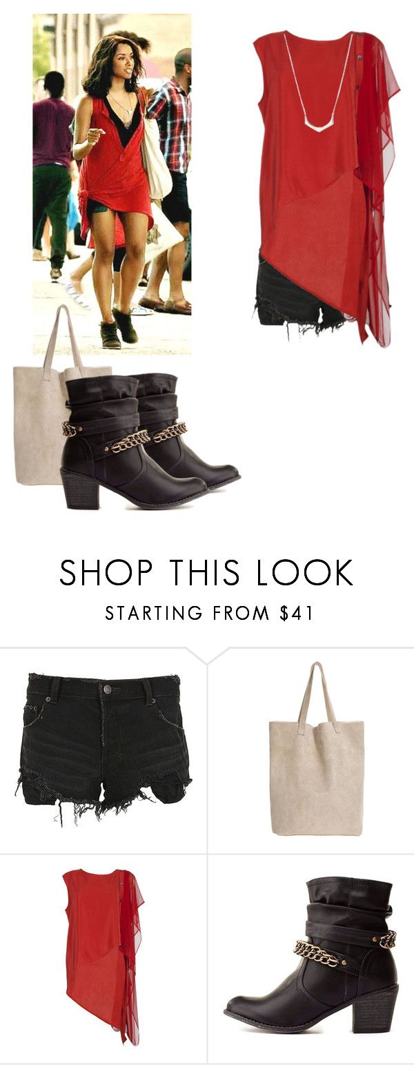 """""""Bonnie Bennett - tvd / the vampire diaries"""" by shadyannon ❤ liked on Polyvore featuring Ksubi, Taylor, Charlotte Russe and Love 21"""