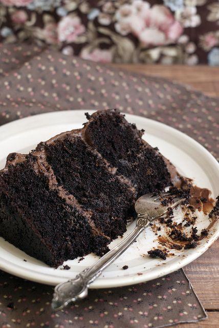Шоколадный торт. Идеальный