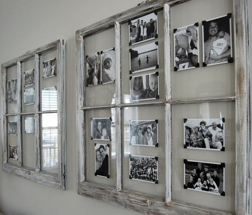 Trasformare una vecchia finestra in un portafoto.Ecco per Voi 20 idee creative per riciclare le vecchie finestre e trasformarle in bellissimi e bellissimi..