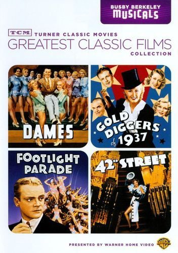 TCM Greatest Classic Films Collection: Busby Berkeley Musicals [2 Discs] [DVD]