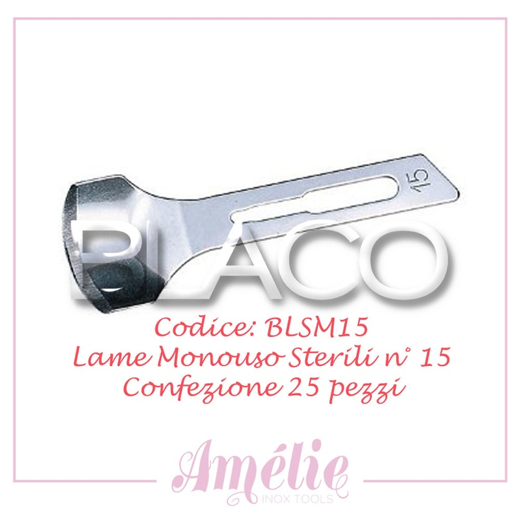 Amelie inox tools sgorbia box 25pz num. 15