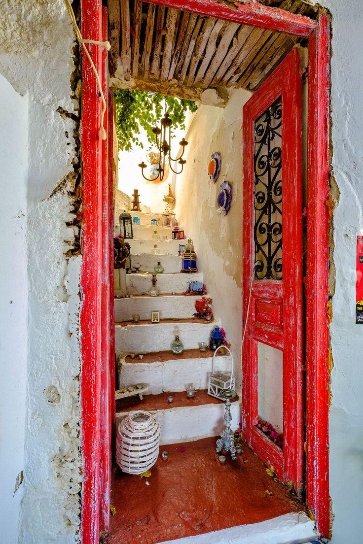 Door of treasures, Kythnos, Greece