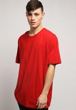 d7cd6fd9 Gully Garms vintage red Tommy Hilfiger T-shirt. #MensT-shirts | Mens ...