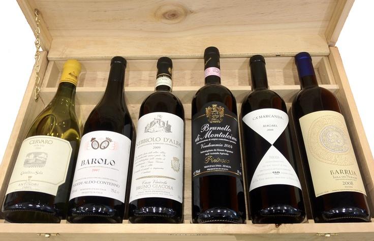 Italian Icons (6 Bottles), £220.00