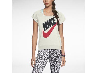Nike Rally Crew Short-Sleeve Women's Sweatshirt
