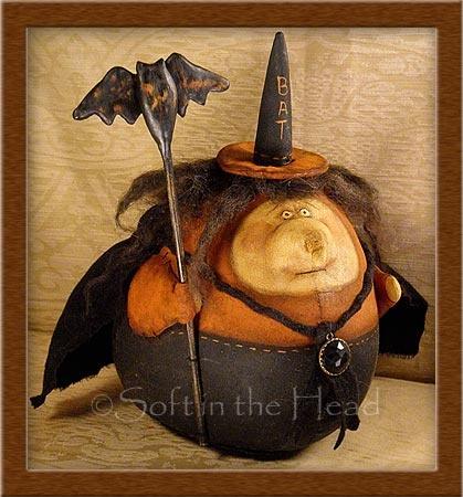 """Grandma Batty"" witch PODD....©2010"