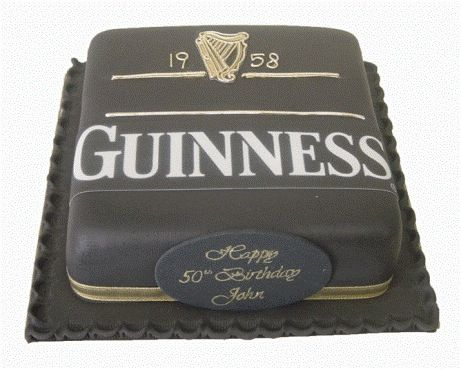 Guinness Birthday Cake Hubbys 40th Birthday Party