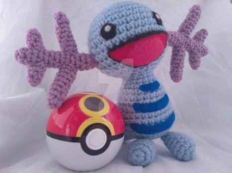 Wooper Pokemon Inspired Amigurumi by ChibiSayuriEtsy