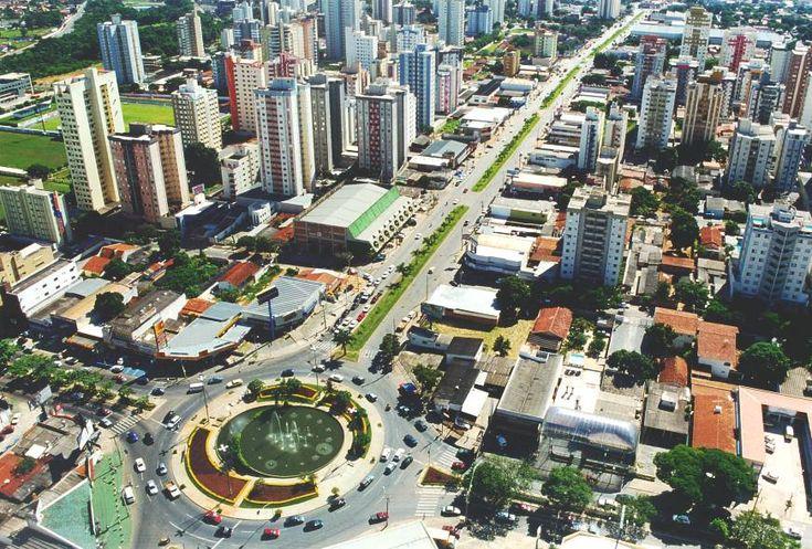 Photo of the state capital Goiania Goias