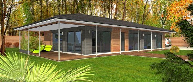 Clairlande Bois : constructeur maison Gironde (33) - Maison ...
