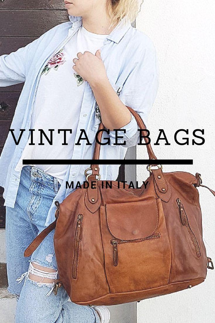 2f418155db sac cabas XL cuir style vintage couleur camel | CAMEL Intemporel en ...