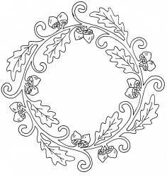 celtic leaf | Coloring pages and templates