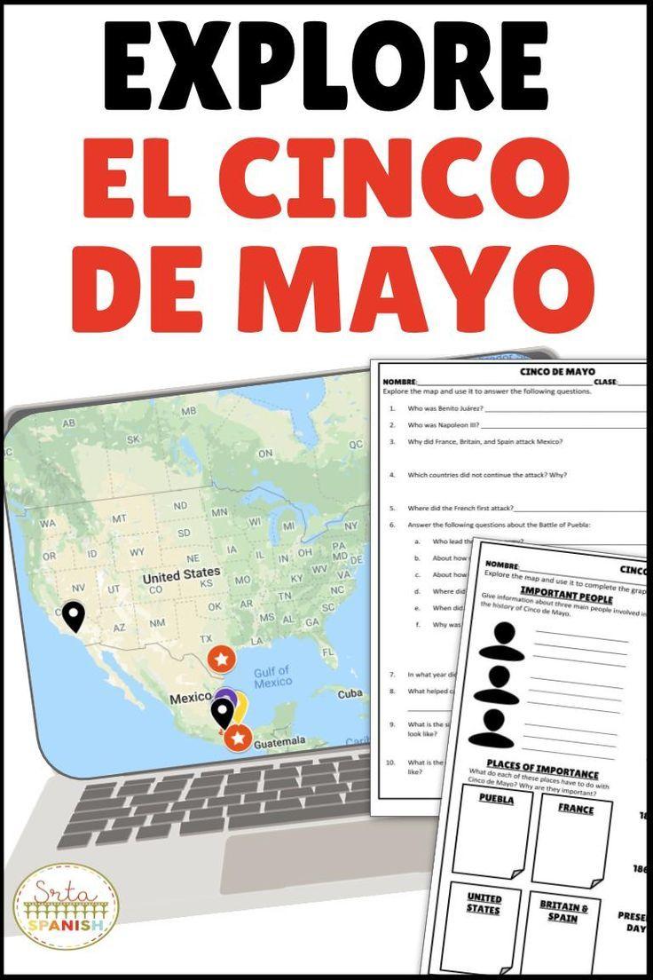 cinco de mayo digital activities spanish culture holidays spanish classroom high school. Black Bedroom Furniture Sets. Home Design Ideas