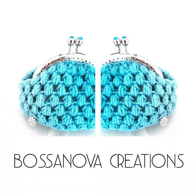 #bossanovacreations #blue #picoftheday #photooftheday #loveit #handmade #ganchillo #coinpurse #cool #crochet #crochetaddict #knit #knitting #knittersofinstagram #sunday