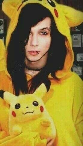 Andy and Pikachu! <3