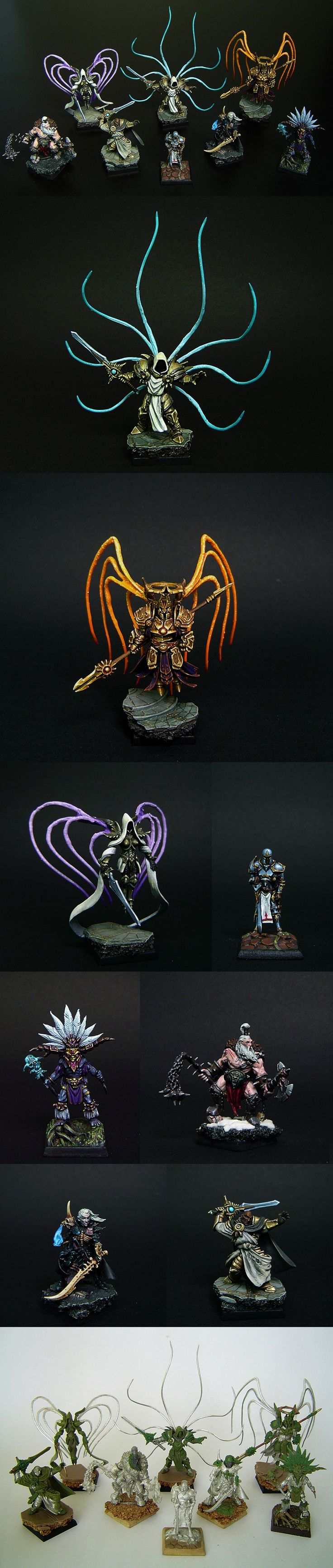 Miniature conversions for Diablo characters