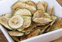 dr OZ Zucchini Chips