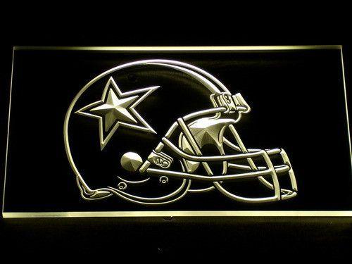 Dallas Cowboys Helmet LED Neon Sign