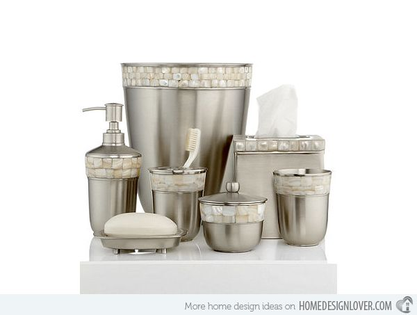 Perfekt 15 Trendy Modern Bathroom Accessories Set