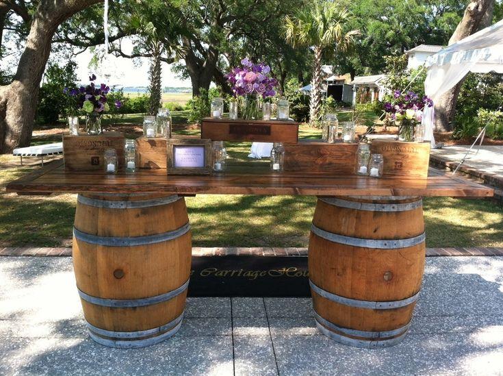Be Creative With Used Wine Barrels Wine Barrel Bar Design