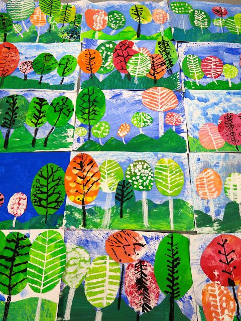 Cassie Stephens: In the Art Room: Ten Fave Fall Projects for Kids
