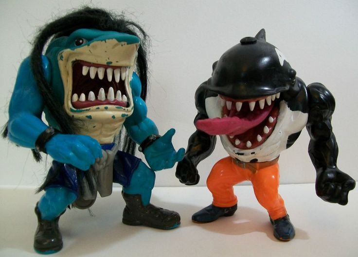Vintage Street Sharks figures - Rox with his fab Rock God ...