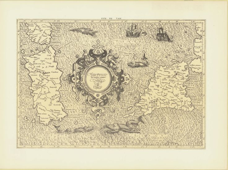 Sardinia & Sicily, Gerard Mercator, 1578