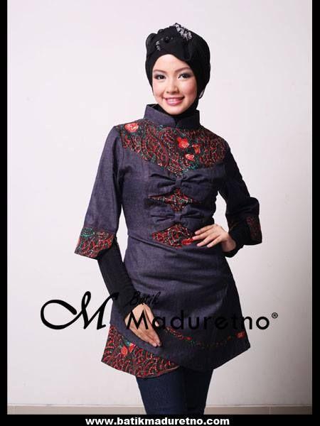 Atasan Batik Wanita Untuk Kerja Pusat Batik Madura
