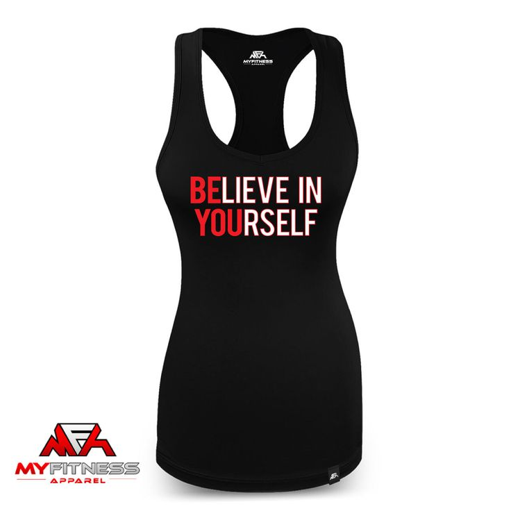 A personal favorite from my Etsy shop https://www.etsy.com/ca/listing/471262606/believe-in-yourself-tank-top-racerback