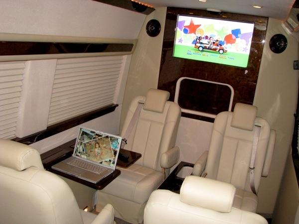 Badfef Ded D on Chevy 9 Passenger Conversion Van Interior