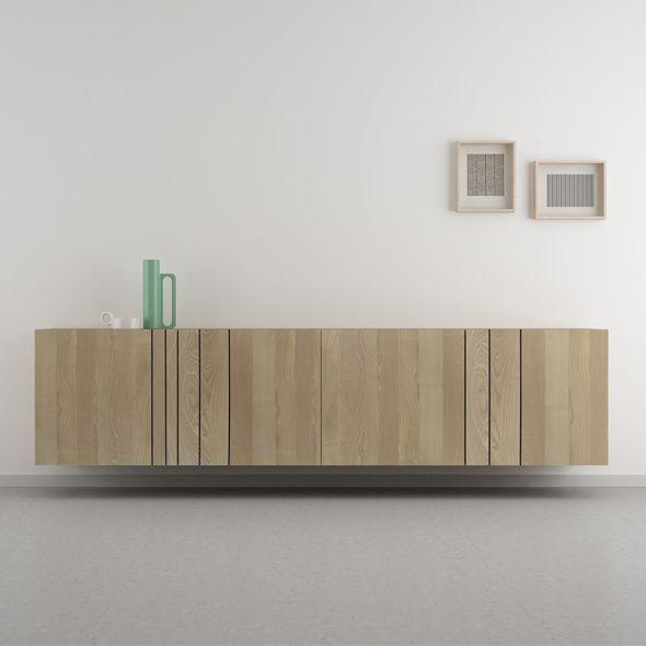 Aparador nórdico roble. Tienda online decoracion y muebles nórdicos.