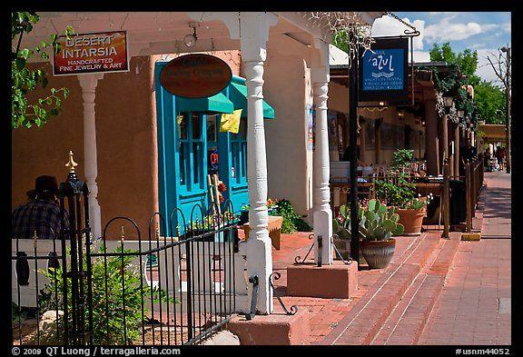 Stores, old town. Albuquerque, New Mexico, USA