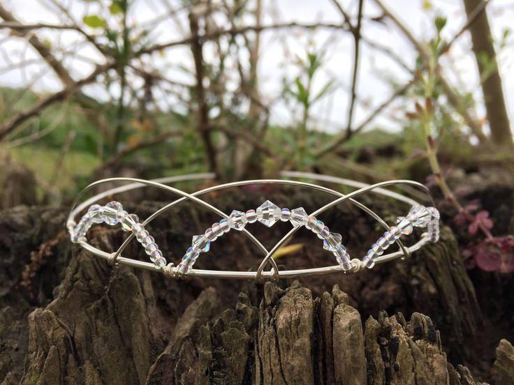 Gorgeous Scottish Swarovski Wedding Tiara