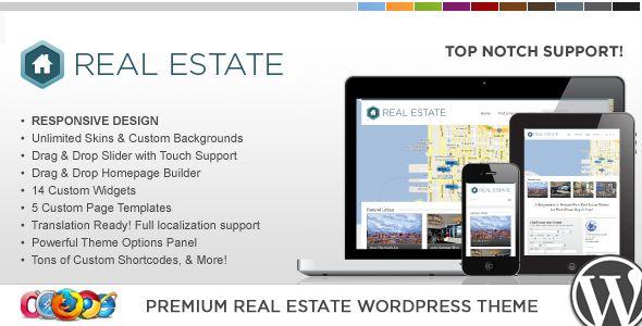 WP Pro Real Estate 3 Responsive WordPress Theme - ThemeForest Item for Sale