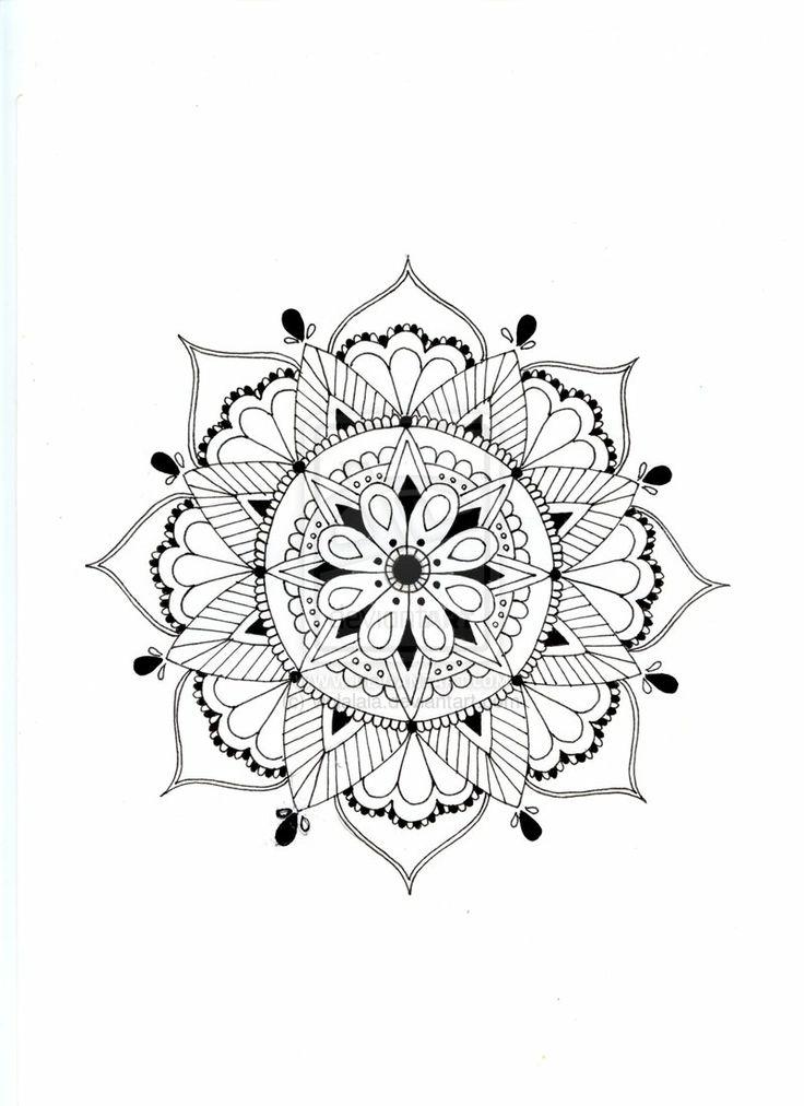 Mandala by violalala.deviantart.com on @deviantART