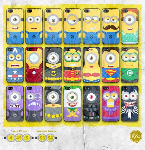 Hey, I found this really awesome Etsy listing at http://www.etsy.com/listing/156526682/despicable-me-minion-superheros-iphone-4