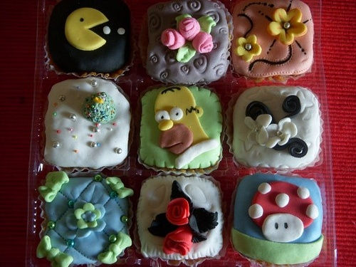 cupcakes, magdalenas decoradas   Flickr: Intercambio de fotos