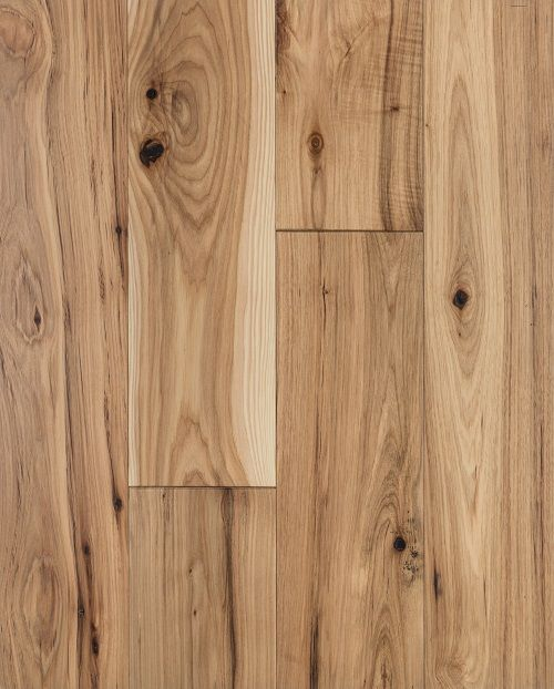 Charcoal Over Character Grade White Oak Wood Floor Planks
