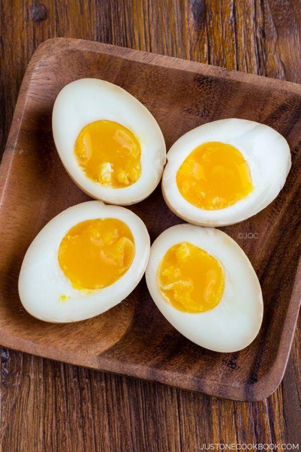 Ramen Egg (Ajitsuke Tamago) #ramen   Easy Japanese Recipes at JustOneCookbook.com