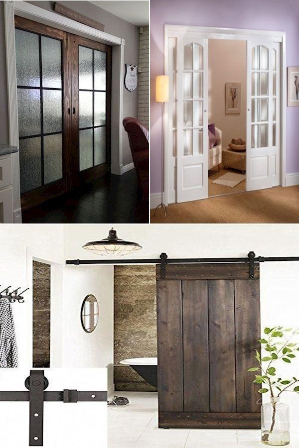 Wood Sliding Closet Doors Sliding Wood Barn Doors Interior 2 Panel Interior Doors In 2020 Decor Interior Outdoor Decor