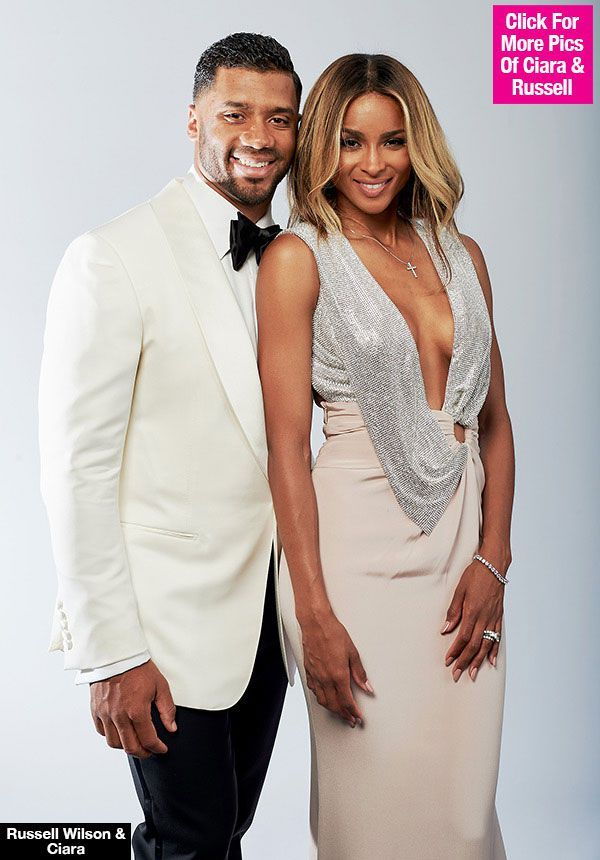 Russell Wilson Wishes New Wife Ciara A Happy Birthday: 'I Love You To Heaven & Back'