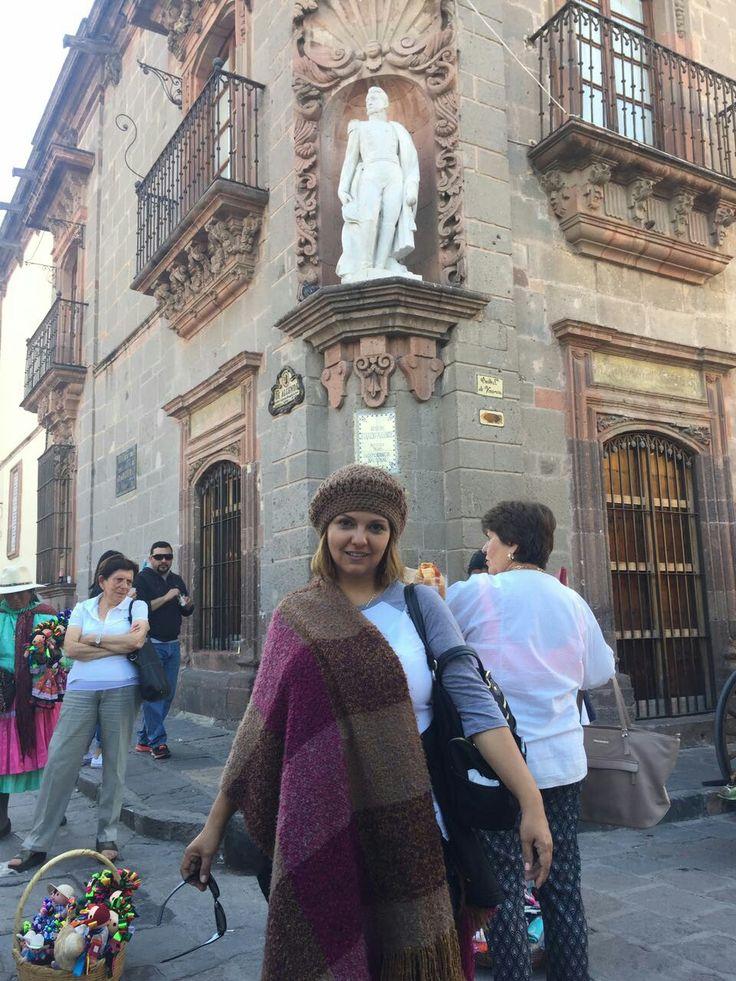 La casa del Gral Ignacio Allende hecha museo; en San Miguel de Allende Guanajuato
