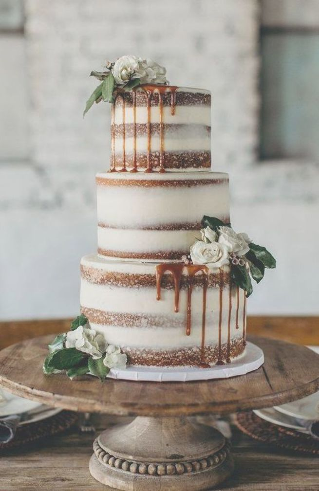 100 Rustic Wedding Cakes For Fall Drip Wedding Cake With Figs For Woodland Theme Vintage Th Pretty Wedding Cakes Colorful Wedding Cakes Wedding Cakes Vintage