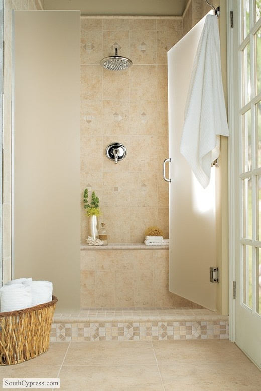 1000 Images About Master Bath On Pinterest Oakwood Homes Bath Products And Huge Shower