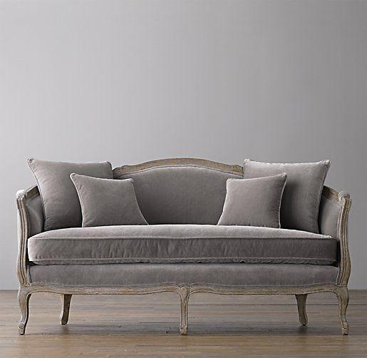 "Love this! 64"" Ondine Salon Bench #interiordesign #furniture"
