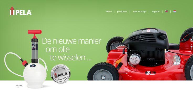 Websiteontwikkeling van pelaproducts.eu door Interlynx.