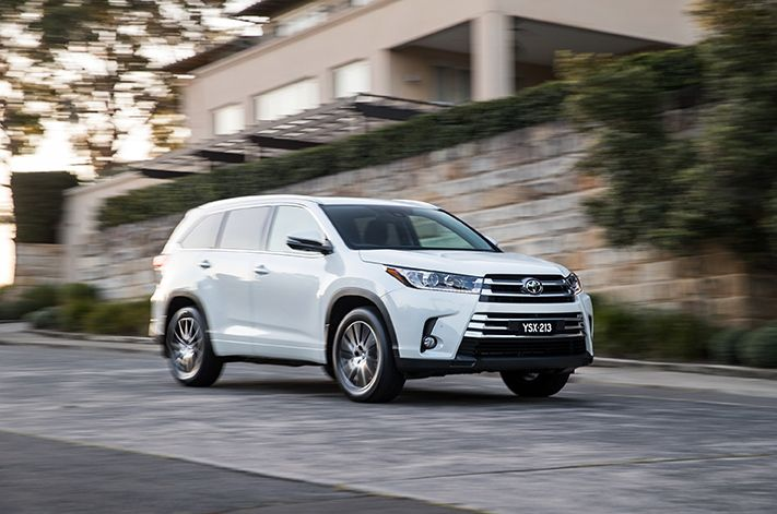 2017 Toyota Kluger Grand AWD